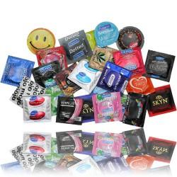 Prezervatyvų rinkinys MIX 50 vnt