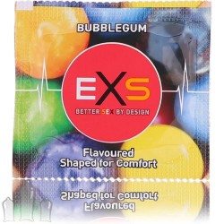 Prezervatyvai EXS Bubble Gum