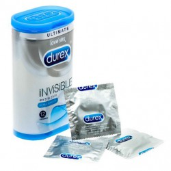 Durex Invisible Extra Sensitive prezervatyvai