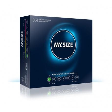 MY.SIZE 47 (36 vnt. pakuotė)