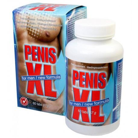 Penis XL 60 tabs maisto papildas vyrams