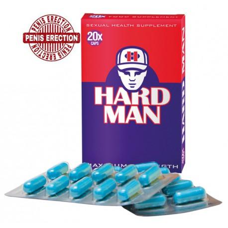 Hard Man Maximum Strenght maisto papildas vyrams