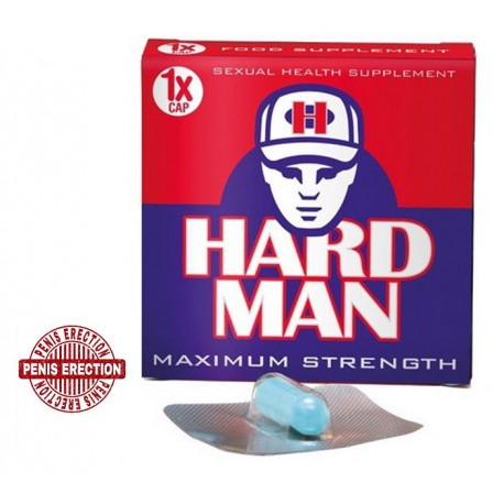 Hard Man maisto papildas vyrams erekcijai