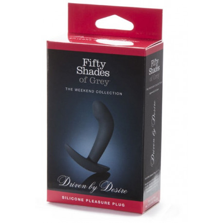 Fifty Shades Of Grey Driven By Desire Butt Plug Analinis kaištis