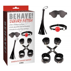 Behave Luxury Fetish Dominate Tonight S&M Kit