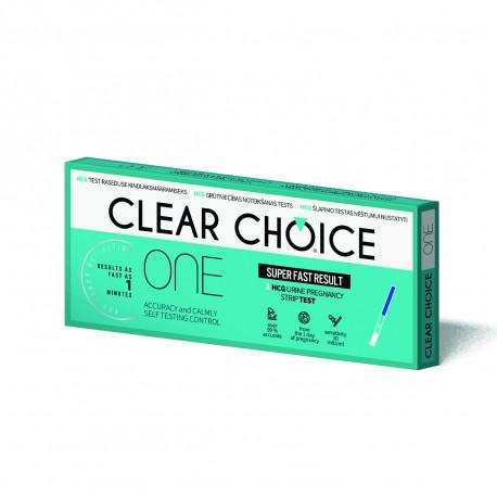 Clear Choise ONE nėštumo testas juostelė