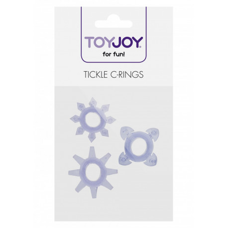ToyJoy Tickle C-Rings