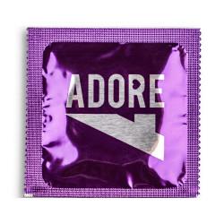 Adore Mixed Flavours prezervatyvai