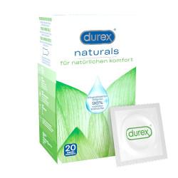 Durex Naturals Preservatifs prezervatyvai